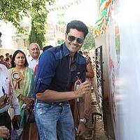 tn_Actor Ganesh Venkataraman at the launch of on campus Swachh Bharat campaign, Agarwal vidhyalaya
