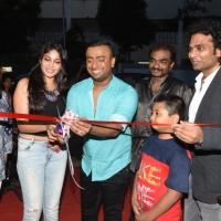 Actress Vijayalakshmi and Karun Raman inaugurate Aron Tattoo Studio