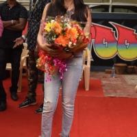 Actress Vijayalakshmi at Aron Tattoo Studio