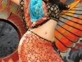 Kajal Agarwal Hot Navel Show Stills from Nayak, Kajal Agarwal Hot Navel cleavage show pictures