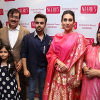 Harish Kumar - MD of Neeru's, Karishma Kapoor and Avnish Kumar - Director of Neeru's - 5