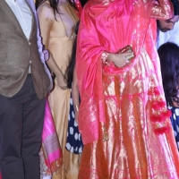 Karishma Kapoor waves to the crowd