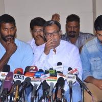 Nadigar Sangam Press Meet regarding General Body EC Meeting & S.Ve.Sekar B'day Wished By Nadigar Sangam Leader's Photos (9)