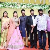 Shanthnu - Keerthi Wedding Reception Stills (11)