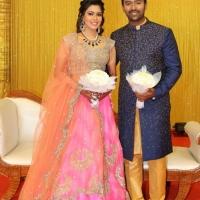 Shanthnu - Keerthi Wedding Reception Stills (8)
