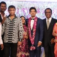 TFPC president, SIAA General Secretary Vishal 's sister Aishwarya Reception Stills (15)