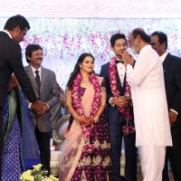 TFPC president, SIAA General Secretary Vishal 's sister Aishwarya Reception Stills (8)