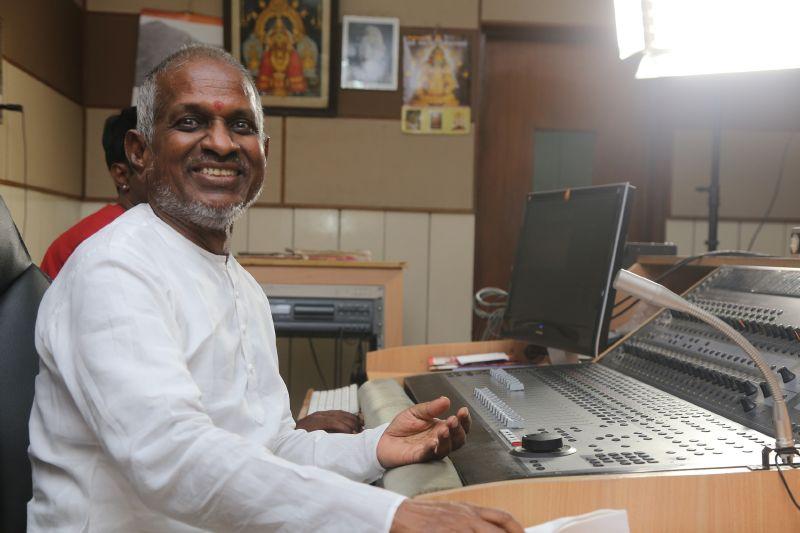 Ilayaraja back at work